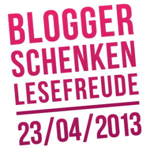 """Logo von """"Blogger schenken Lesefreuden"""""""